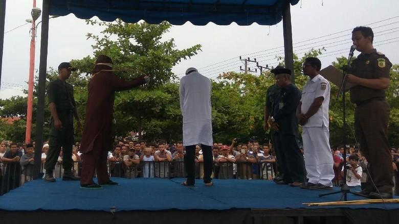 BNNP Aceh Wacanakan Cambuk Pemakai Narkoba Pemula
