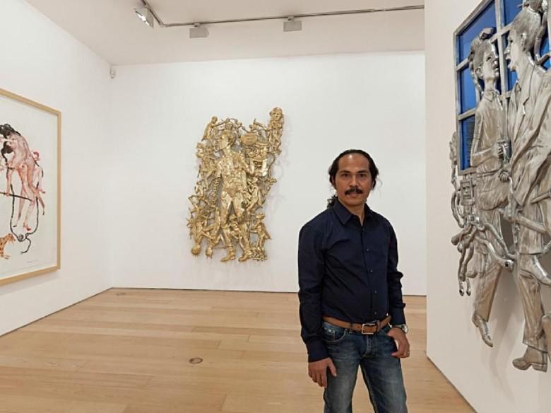 Entang Wiharso Raih Beasiswa Guggenheim 2019 untuk Proyek Seninya Foto: Boris Kirpotin, Bernier/Eliades