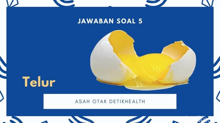 Telur jelas berguna kalau sudah dipecah. Kalau masih utuh, apa gunanya.. Coba share jawabanmu di kolom komentar, ada yang betul semua nggak nih? (Foto: detikHealth)