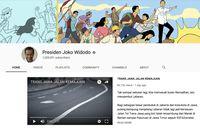 Akun Youtube Jokowi Tembus 1 Juta Subscriber!