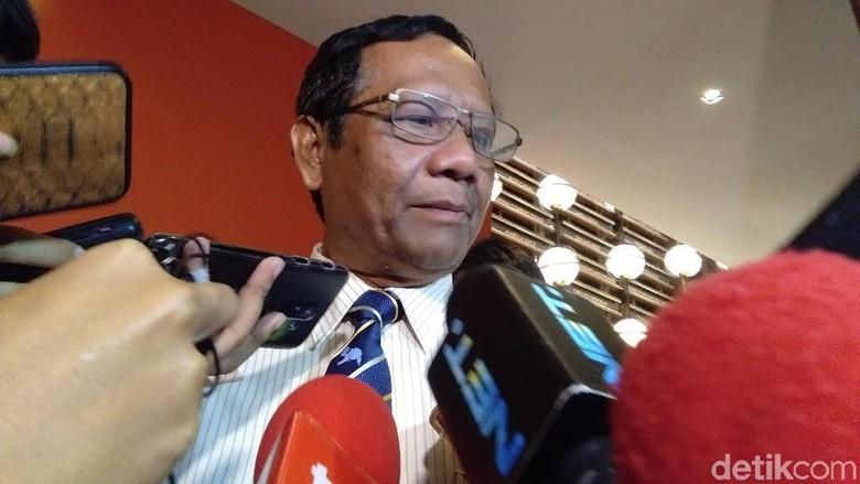 Minta KPU Profesional, Mahfud Md Bicara Potensi Gugatan di MK