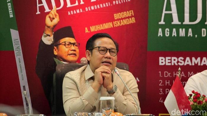 Wakil Ketua DPR Muhaimin Iskandar alias Cak Imin. (Lamhot Aritonang/detikcom)