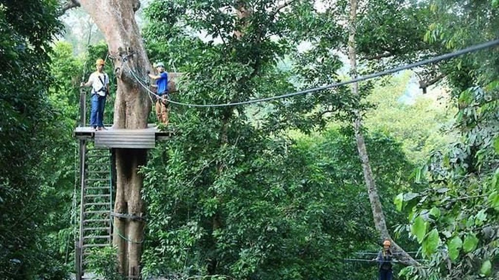 Turis Kanada Tewas Usai Terjatuh dari Atraksi Zipline di Thailand