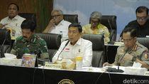 Wiranto Pimpin Rapat Pengamanan Pemilu