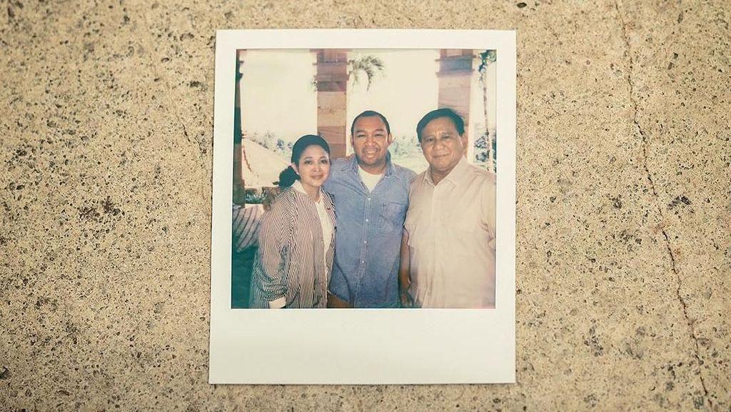 Ucapkan Ulang Tahun, Prabowo Pajang Foto Titiek Soeharto dan Didiet