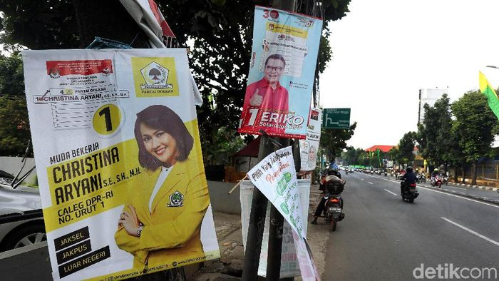 Ilustrasi baliho Kampanye/Foto: Rengga Sancaya