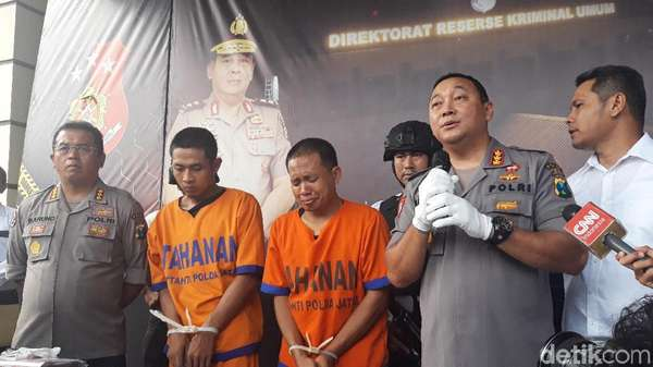Kasus Pemutilasi Mayat dalam Koper Berawal dari Uang Rp 100 Ribu
