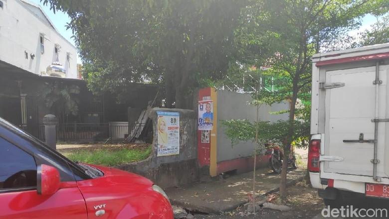 Masa Tenang, Makassar Belum Bersih dari Poster Caleg dan Capres