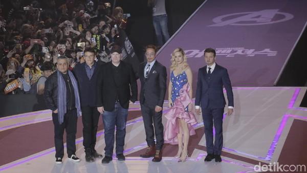 Keseruan Fanmeeting Avengers: Endgame di Korea