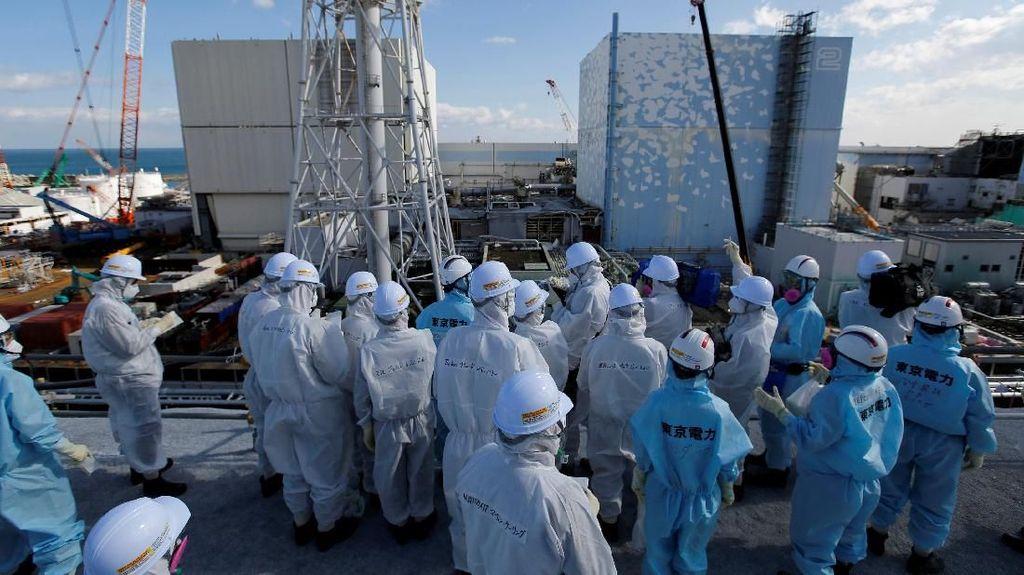 Bahan Bakar Nuklir Dipindahkan dari Area Terpapar Radioaktif di Fukushima