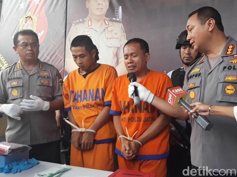 Pemutilasi Mayat Dalam Koper Menangis, Polisi: Sadis Kok Mendayu-dayu