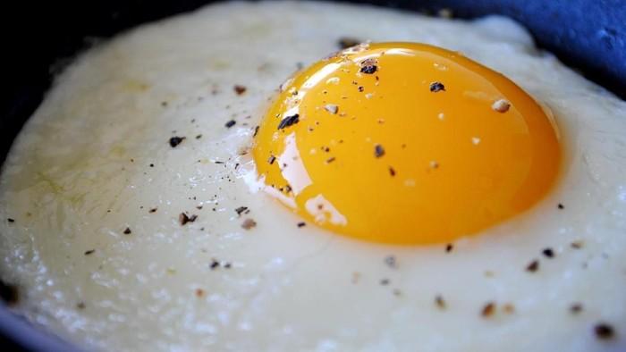Telur untuk sarapan bisa bikin kenyang lebih lama dan nggak bikin gemuk. Foto: istimewa