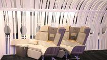 Inovasi Baru: Kursi Pesawat Seperti Sofa