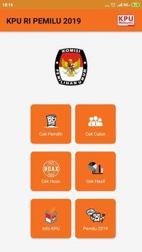Jika Situs KPU Down, Coba Pakai Aplikasi Ini untuk Cek DPT