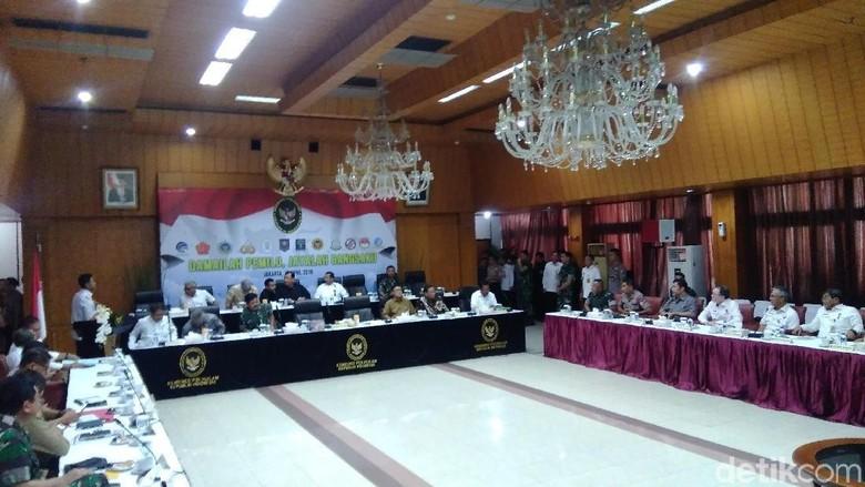 Wiranto: Amankan TPS dari Gangguan, Polri/TNI Tetap Netral