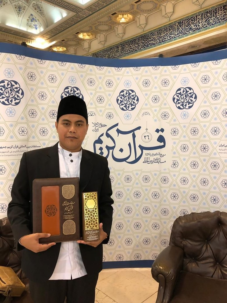 Qori Indonesia Raih Juara Pertama MTQ Internasional Iran ke-36