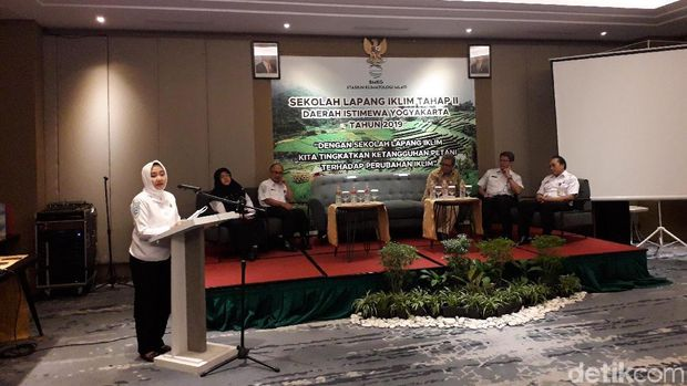 Pembukaan Sekolah Lapang Iklim (SLI) Tahap II BMKG di Yogyakarta.