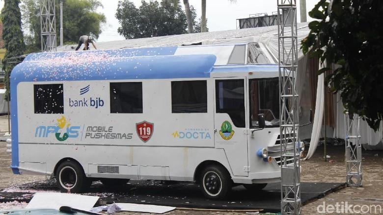 Ridwan Kamil Luncurkan Bus Puskesmas Sisir Wilayah Terpencil Jabar