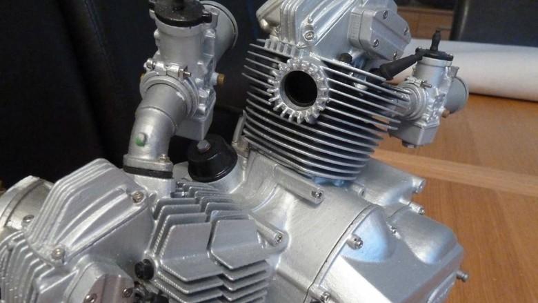 Mesin Ducati kecil Foto: Pool (Rideapart)
