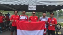 Raih Tiga Medali di Malaysia, Tim BMX Indonesia Kurang Puas