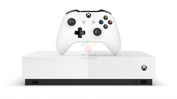 Bocoran Spek dan Wujud Xbox One S Khusus Game Digital