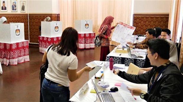 WNI di Rusia gunakan hak suaranya