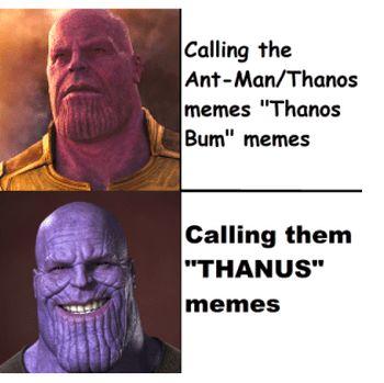 Meme Ant-Man Masuk ke Bokong Thanos Jadi Favorit Robert Downey Jr