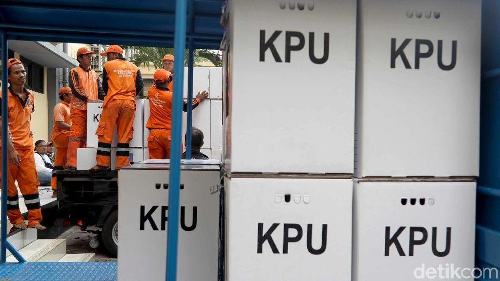 Logistik untuk Pilgub di Kota Bengkulu Sudah 80%