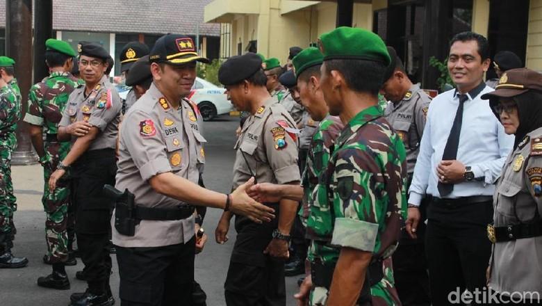 750 Polisi di Nganjuk Dikerahkan untuk Cegah Serangan Fajar
