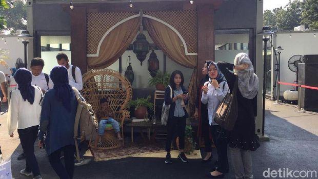 Jokowi Resmikan Halal Park di Komplek GBK