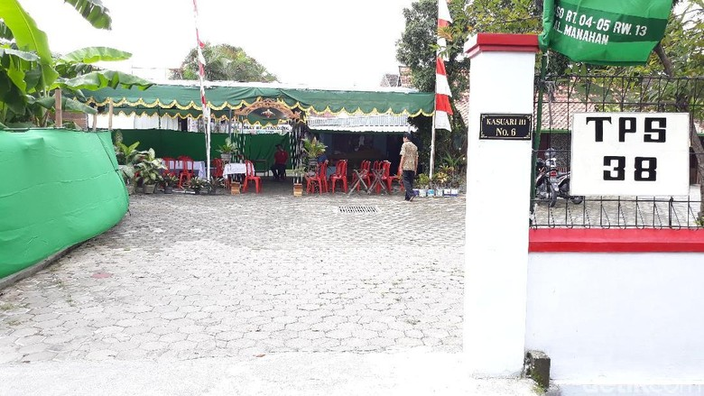Ibunda dan Anak-anak Jokowi Besok Nyoblos di TPS Manahan Solo