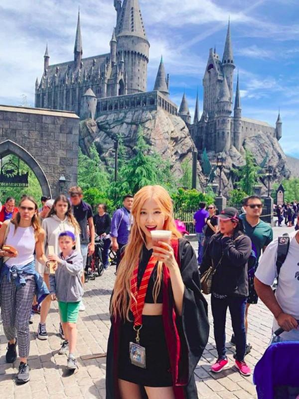 Foto-fotonya pun ramai dikomentari para netizen. Mereka memuji kecantikan Rose dan mengucapkan selamat menikmati keseruan di Universal Studios Hollywood. (roses_are_rosie/Instagram)