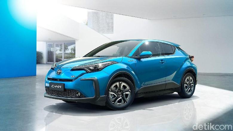 Toyota C-HR listrik akan meluncur untuk pasaran China beberapa tahun lagi. Foto: Toyota