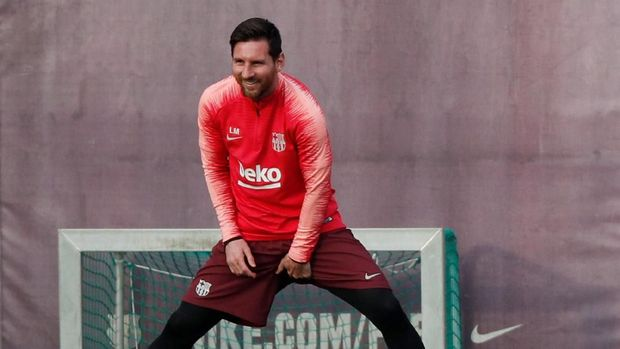Lionel Messi belum pernah mencetak gol di perempat final Liga Champions sejak 2013.