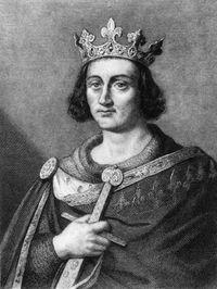 Raja Louis IX atau Saint Louis, satu-satunya raja Prancis yang mendapat gelar santo.