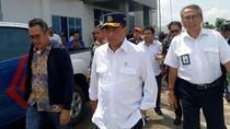 Gaya Menhub-Menteri PUPR Cek Persiapan Mudik di Pelabuhan Merak