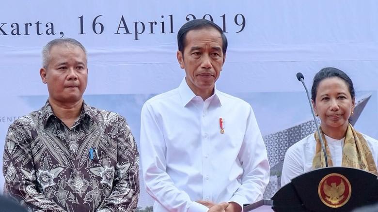 Resmikan Halal Park di GBK, Jokowi: Indonesia Juara 1 Wisata Halal Dunia