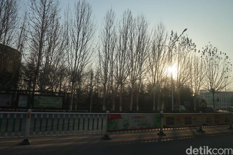 Sebagai kota pertama yang membuat layang-layang, Weifang jelas penting bagi China. Begitu masuk kota ini, kamu akan setuju dengan julukan romantis yang disematkan. (Bonauli/detikcom)