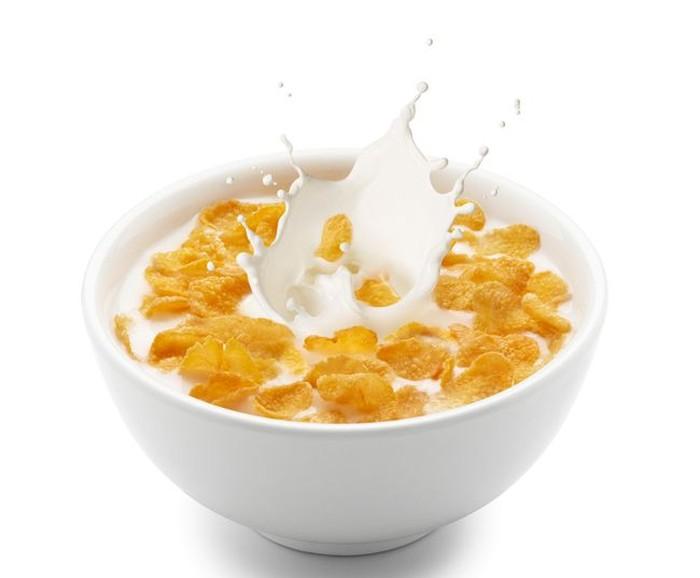 sereal dan susu