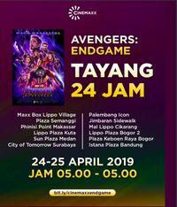 Cuma di RI, Avengers: Endgame Tayang 24 Jam dari Jam 5 Subuh
