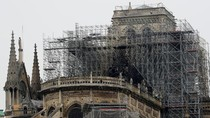 Video: Api Dijinakkan, Begini Wajah Katedral Notre Dame Kini