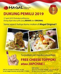 7 Tempat Makan yang Punya Promo Pemilu 17 April 2019