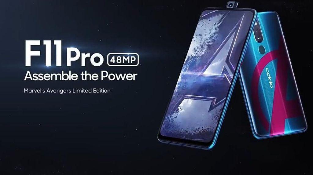 Oppo Hadirkan F11 Pro Edisi Avengers