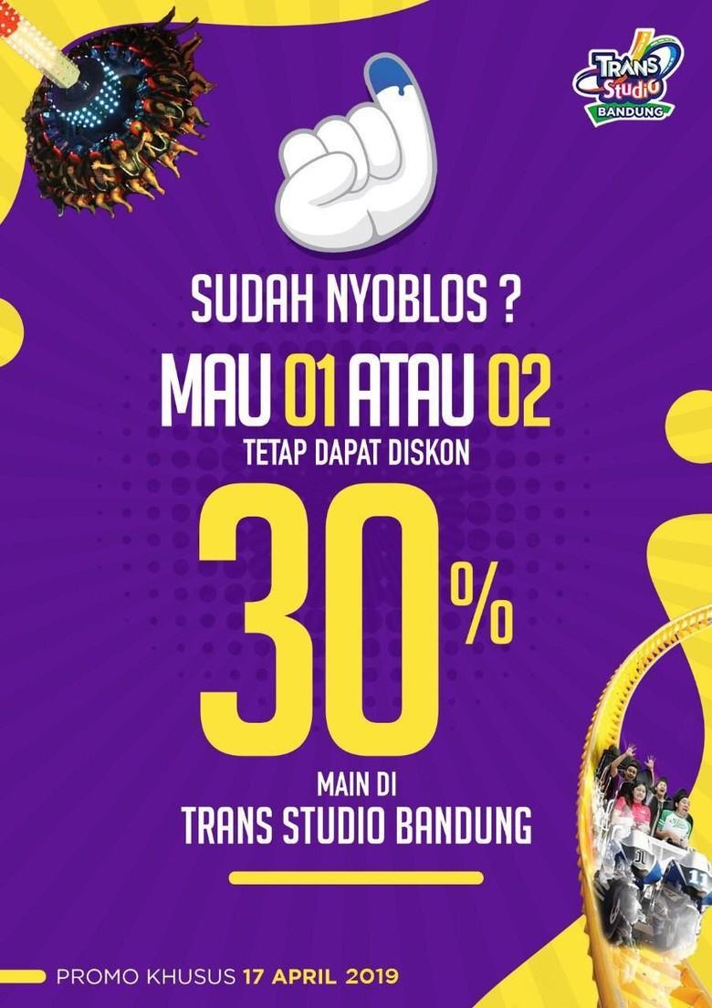 Meriahkan Pemilu, Tempat Wisata hingga Kafe di Bandung Beri Promo