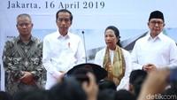Jokowi mengatakan, tahun 2018 ini ada 140 juta wisatawan muslim. Dengan spending online sampai USD 35 miliar. Jumlah turis muslim dunia terus meningkat dari tahun ke tahun, dan tahun 2020 diproyeksikan akan mencapai jumlah 158 juta orang.