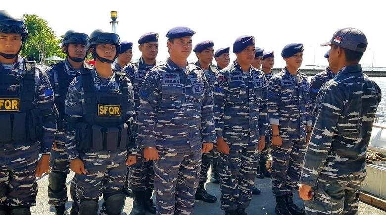 TNI AL Bantu Pengamanan Pemilu di Pulau-pulau Sulsel
