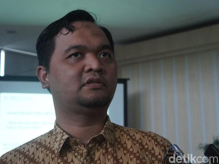 Kepala BPJS Kesehatan Karawang Unting Patri Wicaksono (Foto: Luthfiana Awaluddin/detikcom)