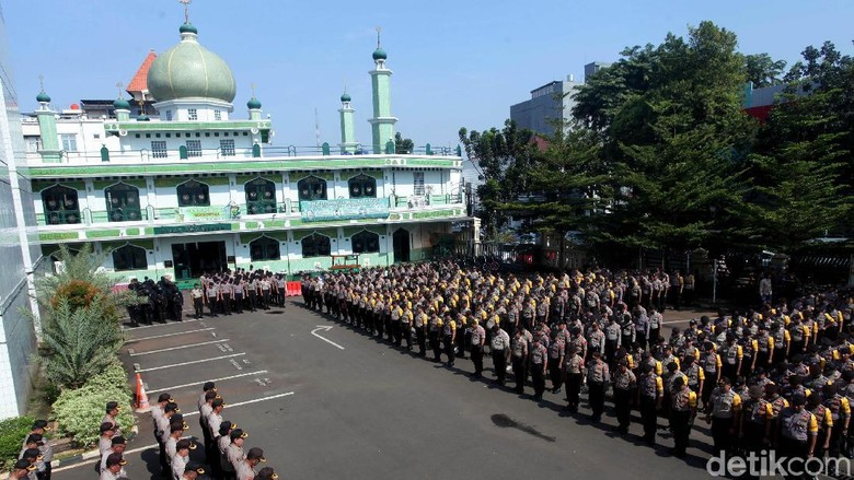 Polres Jaksel Gelar Apel Pengamanan Pemilu 2019