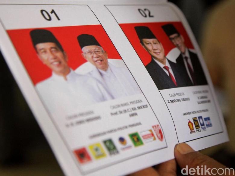 Situng KPU 86%: Jokowi Unggul 15,8 Juta Suara dari Prabowo