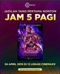 Wah, Tiket Avengers: Endgame Jam 5 Subuh di Cinemaxx Habis!